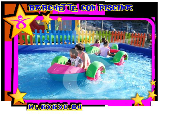 Barchette con piscina gonfiabili pakito - Gonfiabili con piscina ...