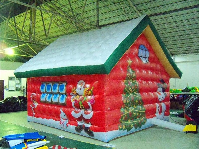 Casetta Di Natale Gonfiabile : Casa di babbo natale goniabile gonfiabili pakito